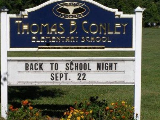 Conley Elementary sign