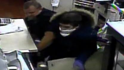 The Brevard County Sheriff's Office is searching for a white male suspect who robbed the Sugar Creek Gas Station off Highway 46 in Mims on January 26.