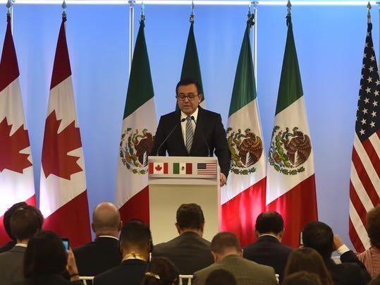 MEXICO-NAFTA-MEETING