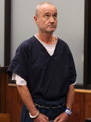 Peter Robbins appears for his arraignment Wednesday,