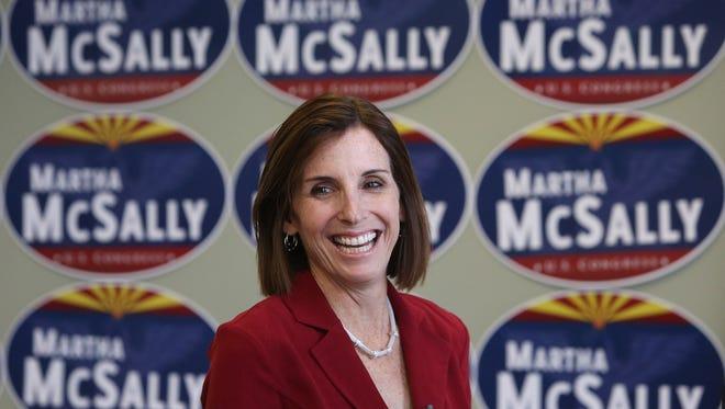 U.S. Rep. Martha McSally, R-Ariz., has a formidable campaign war chest.