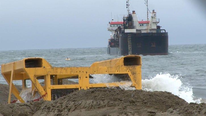 Hurricanes could push Ocean Co. beach work into next summer