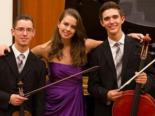 Chante Piano Trio March 13