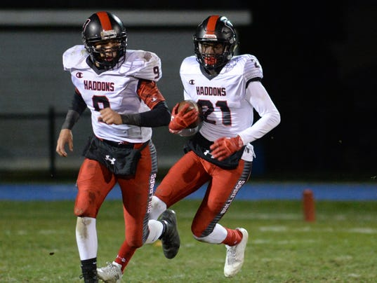 Football:  Haddonfield vs. Sterling