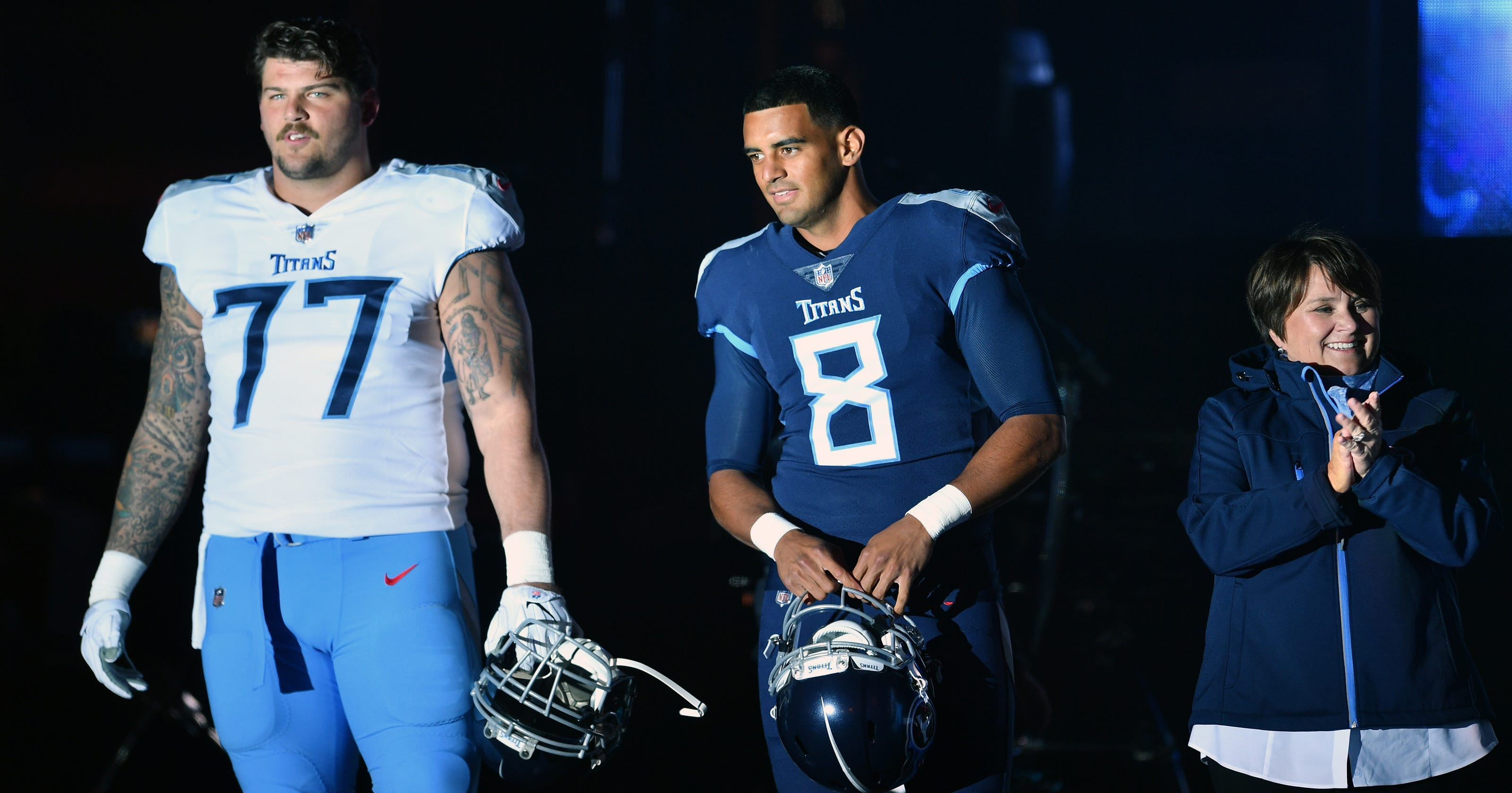 Titans  Taylor Lewan   Tired of Preds carrying us  as offseason workouts  begin 39fd0c7ad