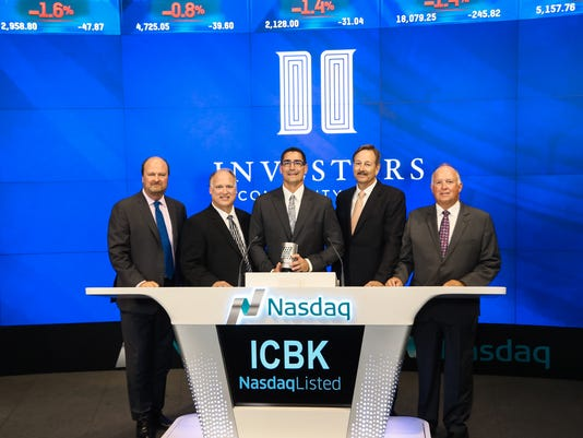Local bankers ring Nasdaq bell