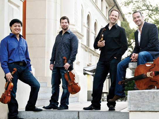 Miro Quartet: a Chamber Music Society of Detroit series.