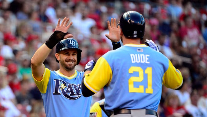Lucas Duda and Evan Longoria have a tough road ahead of them for the Rays to make the playoffs.