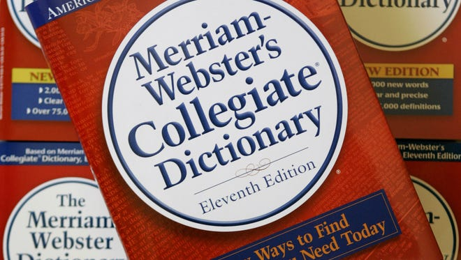 The eleventh edition of Merriam-Webster's Collegiate Dictionary.