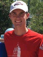 Phoenix Brophy Prep tennis player Greg Abbott.