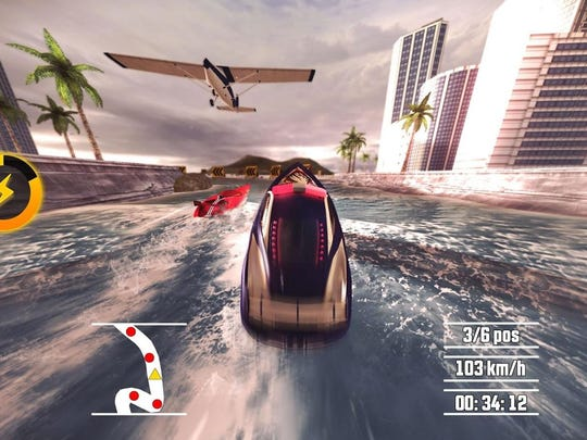 The racing game Driver Speedboat Paradise is making waves for its intuitive controls, gorgeous graphics and variety of arcade race types.