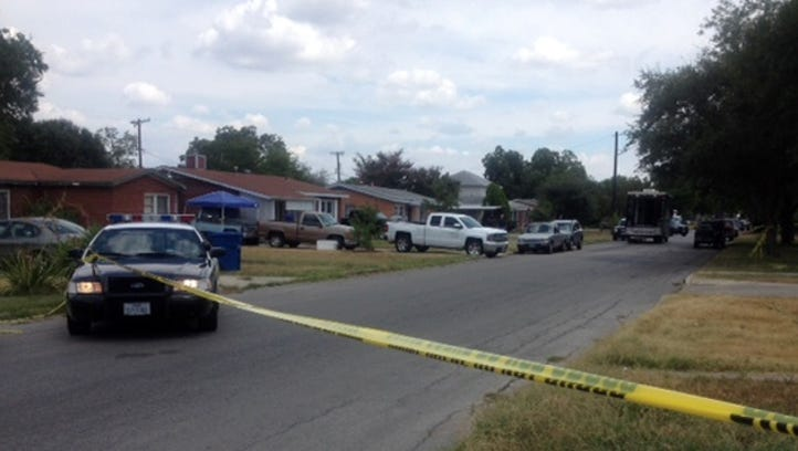 A shooting in southeast San Antonio left two children riddled with gunshot wounds Saturday.