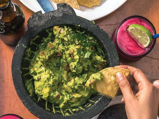 Rosa Mexicano has been serving its signature guacamole