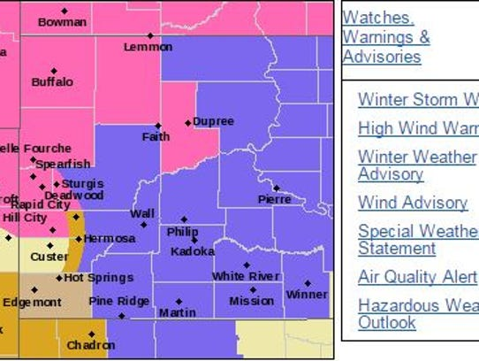 South Dakota National Weather Service Rapid City