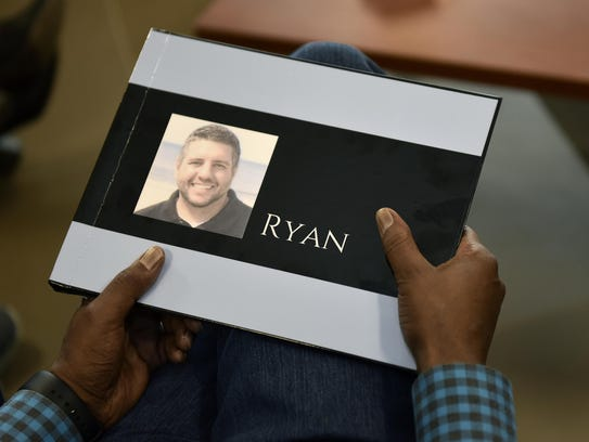 A photo book on the life of Ryan Anderson, the man