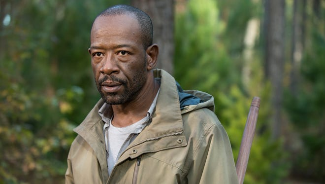 Lennie James returns as Morgan Jones in Sunday's Season 5 finale of AMC's 'The Walking Dead.'