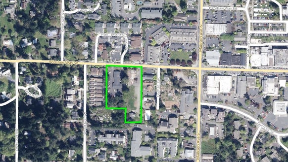 A hotel is proposed for 241 and 253 Winslo Way West.