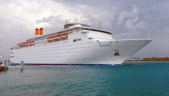 Bahamas Paradise Cruise Line's 1,680-guest Grand Classica is the latest ship to offer two-night cruises from the port of Palm Beach, Fla., to Freeport, Bahamas. It sails in tandem with the slightly smaller Grand Celebration to provide daily departures.