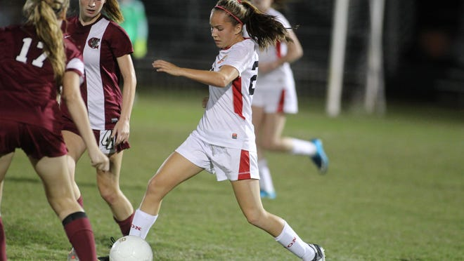 Leon junior Isabel Nunez is the lone returning starting midfielder off last year's District 2-4A champion team. She's tasked with unifying alongside sophomore Maddie Powell and freshman Emma McGibany to create a powerful Lions team. Leon defeated Chiles 3-0 on Tuesday.