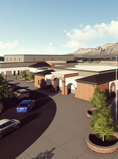 A rendering of the redesign for Hopi Elementary School in Phoenix.