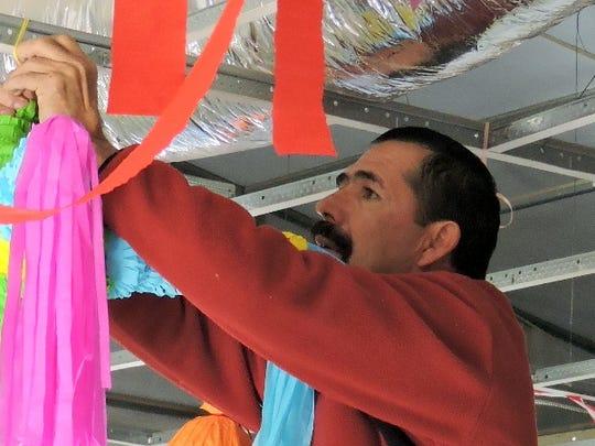 Juan Rincon, coordinator for the Palomas Community