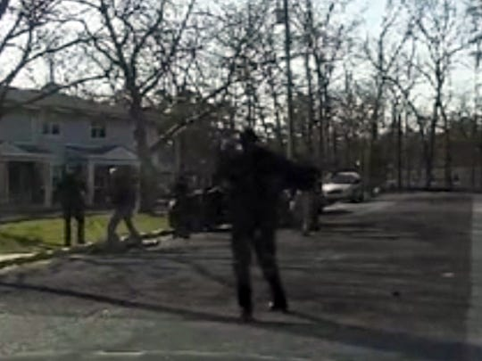 Footage from Millville Police Department police cruiser