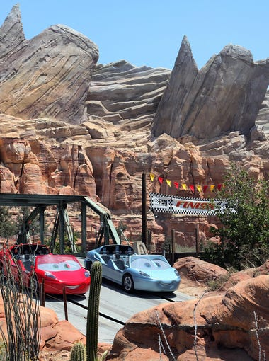 Radiator Springs Racers | This is the park's greatest combination of dark and thrill ride. The latest technology enhances the effects, and there's so much going on you can ride it a dozen times and still see something new. Radiator Springs Racers, the anchor tenant of Cars Land, is without question the best attraction at California Adventure and Disneyland. You heard me.