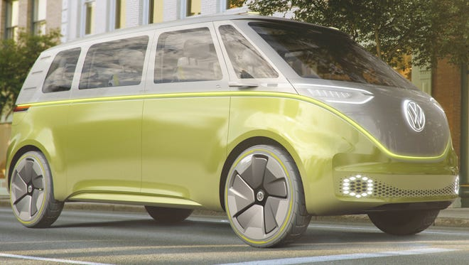 Volkswagen has created a new version of its microbus, this time as an electric self-driving concept