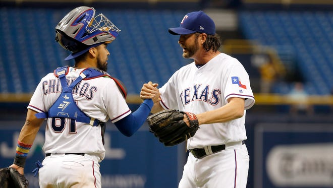 The Texas Rangers' uniforms have the Texas state flag on their left sleeve. A recent petition has called for that patch to be removed.