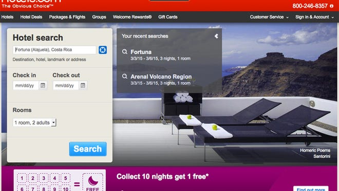 Hotels.com has the most generous reward program when it comes to hotel reservations.