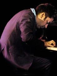 Vijay Iyer, shown performing at the Burlington Discover