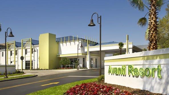 The Avanti Resort in Orlando, Fla.