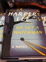 "The newly released book authored by Harper Lee, ""Go"