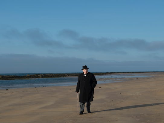 """Brian Cox played Britain's wartime leader at a crossroads in """"Churchill."""""""