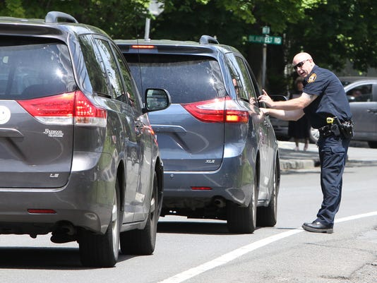 Ramapo Police crosswalk patrol