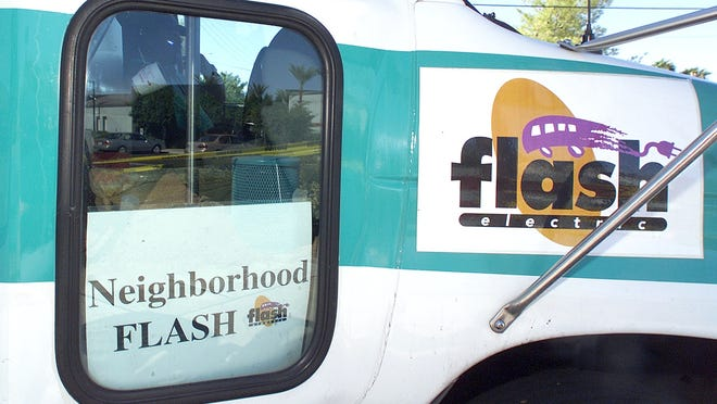 FLASH, with its whimsical logo, began connecting Arizona State University and downtown Tempe in 1994.