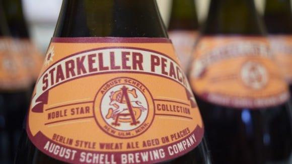 Schell Brewing Company's Starkeller Peach.