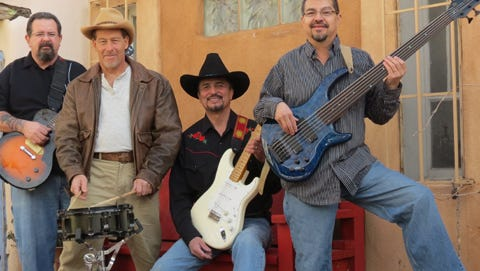 Carrizozo Music commemorates the 4th of July from 4:30 to 6:30 p.m. with Paul Pino and the Tone Daddies