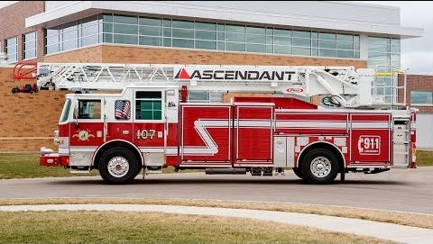 Lyndhurst is purchasing the Pierce Enforcer 75-foot Aerial Ladder truck to replace one from the 1990s.