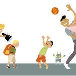 Are you a helicopter or a free-range parent?