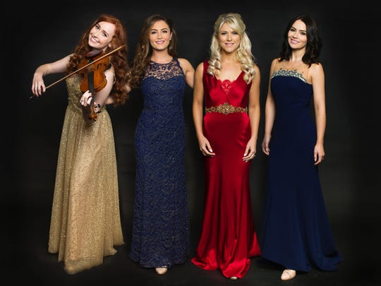 The world renowned Celtic Woman group will perform at 7:30 p.m. Saturday at Memorial Auditorium.