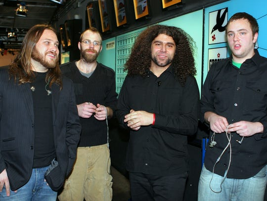Coheed & Cambria plus Foxing perform at 7:30 p.m. Sunday at The Moon.