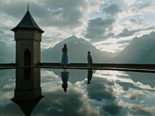 Mia Goth and Dane DeHaan are trapped in the Swiss Alps