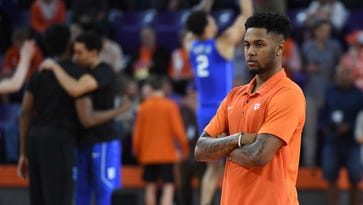 Clemson's Shelton Mitchell still not cleared to return to action for Clemson basketball