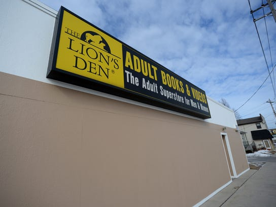 Lions Den Adult Books and Videos on Broadway is one