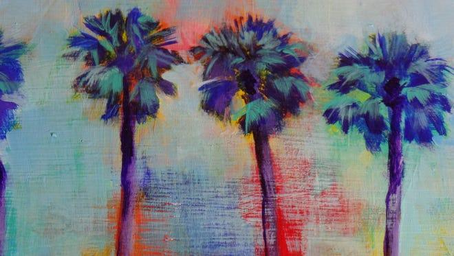 Julie Lounibos is one of 24 Calendart artists participating in the Art Mundo fundraiser  Nov. 3.