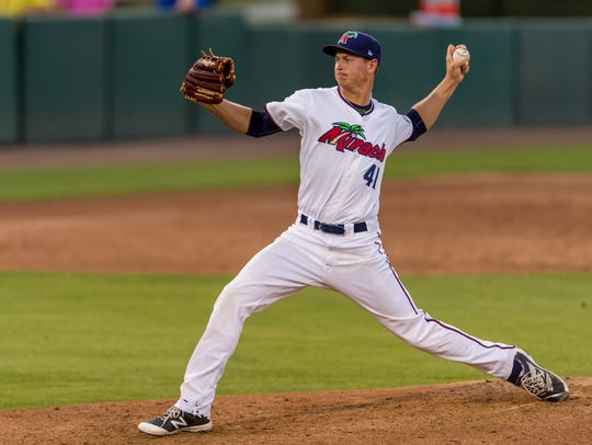 Fort Myers Miracle pitcher Stephen Gonsalves made the