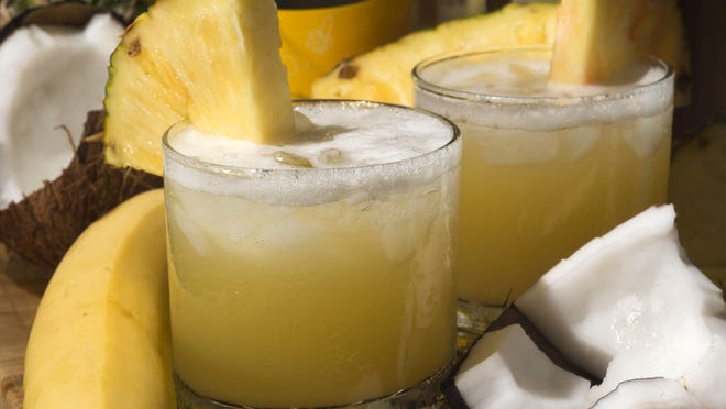 Polynesian Road Rat blends tropical flavors together for cool and refreshing drink at poolside, the beach or anytime.