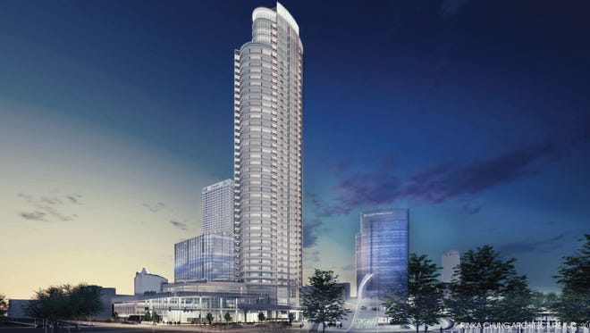 Construction on the Couture high-rise, overlooking Milwaukee's downtown lakefront, is expected to begin by October.