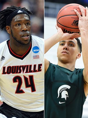 Louisville takes on Michigan State in the Elite Eight.